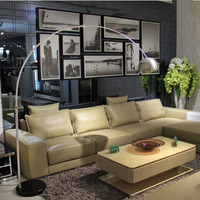 Modern Fishing Floor Lamps LED Residential Lighting Marble 110v 220v Decorative Floor Lamp E27 Foot Switch Warranty 3 Years