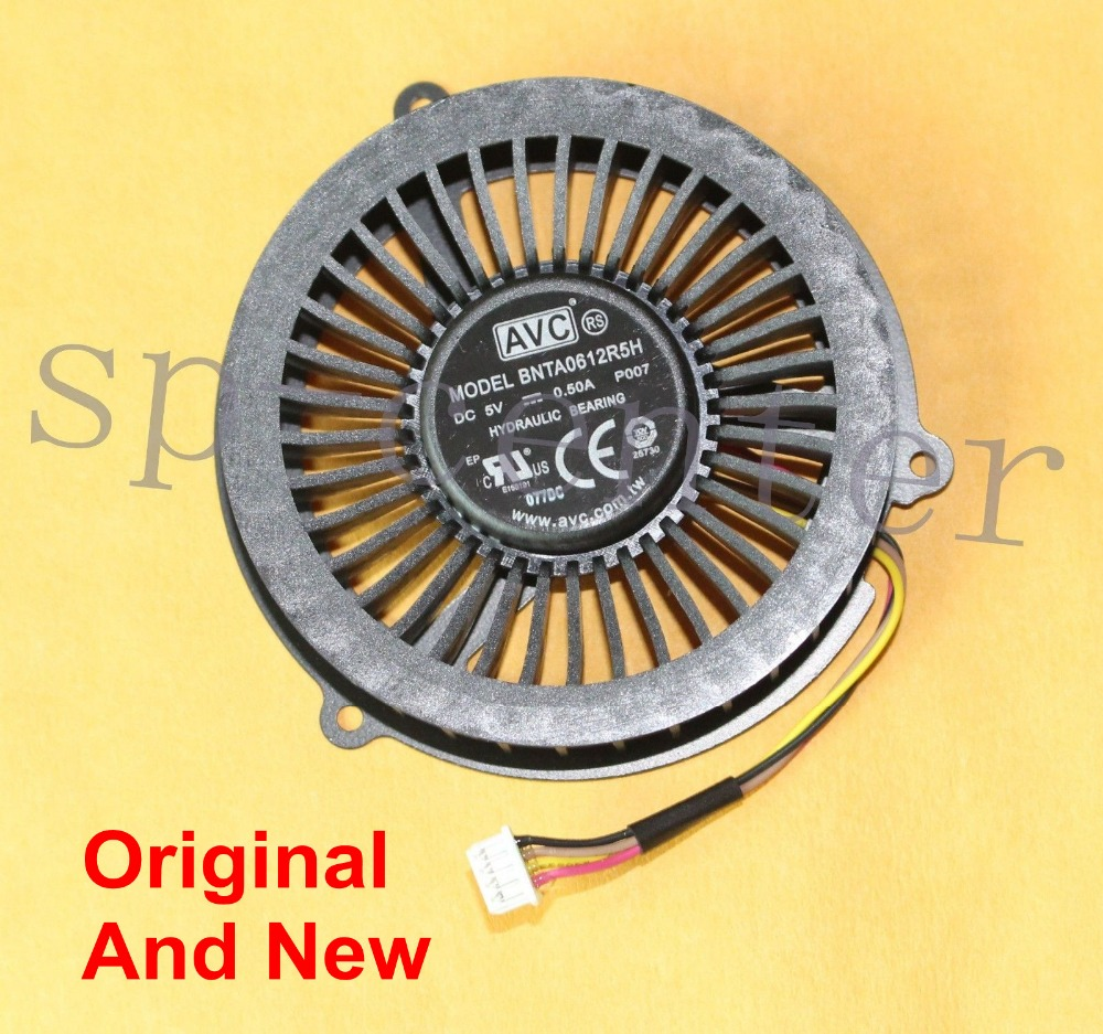 New CPU Cooling Cooler Fan For Lenovo IdeaPad Y400 Y500 Y400S Y500S Laptop For AVC BNTA0612R5H DC5V 0.5A  4 Pins