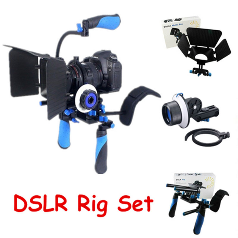 Rl 02 Set Dslr Rig Rl 02 Video Shoulder Camera Mount