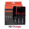 HXY-H2 Cargador de Batería Inteligente de 2 Canales Cargador Rápido Cargador Rápido Para IMR Li-ion/Ni-MH/Ni-cd VS Nitecore D2