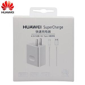 Image 5 - HUAWEI Schnelle Ladegerät Für Taube 9 10 Pro P10 Plus Aufzurüsten Schnell Reise Wand Adapter 4.5V5A/5V4. 5A Typ C 3,0 USB Kabel 1 mt
