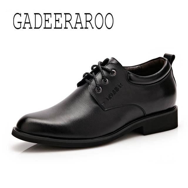 27e6017933 placeholder Los hombres Zapatos de Vestir de Boda Smoking de Charol Pisos  Punta estrecha Zapatos Aumento de