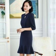 Izicfly/Новое тонкое летнее платье элегантное средней длины