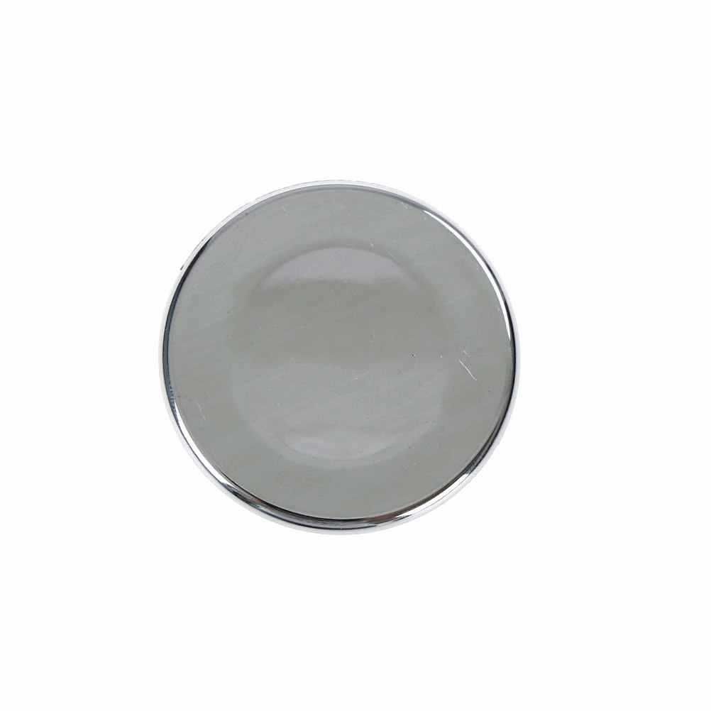 Yeni 2 adet/grup havzası lavabo yuvarlak taşma kapak yüzüğü ekleme yedek düzenli krom trim banyo aksesuarları