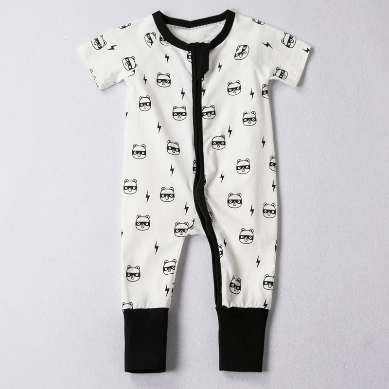 Newborn Baby Clothes Cartoon Baby Rompers Short Sleeve Baby Girls Clothing Spring Baby Boy Jumpsuits Roupas Bebes Infant Costume newborn fleece baby rompers long sleeve baby boys girls clothing spring winter newborn jumpsuits roupas bebes baby girls clothes