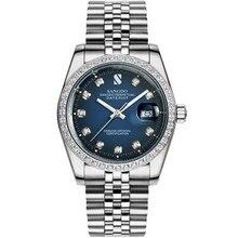 38 ММ SANGDO мужские часы Автоматическая Self-ветер движения Высокое качество Роскошные Механические часы 331gg