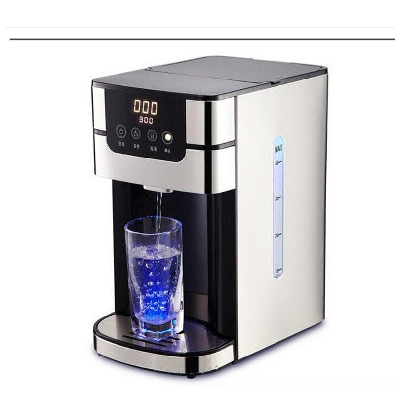 220 V 4L distributeur automatique d'alimentation en eau chauffage rapide Machine à eau bouillante instantanée verrouillage automatique des enfants après utilisation-in Bouilloires Électriques from Appareils ménagers    1