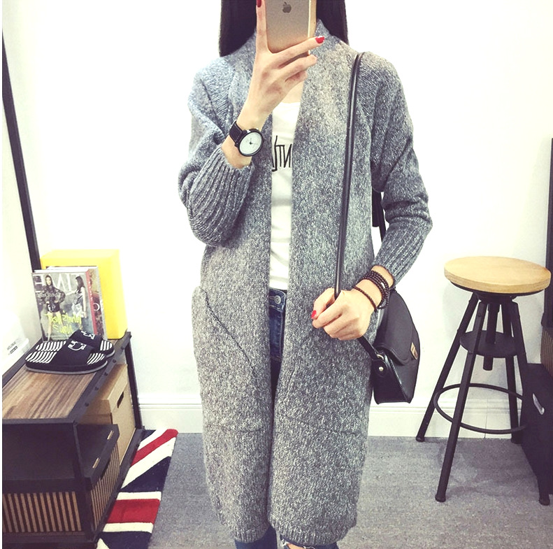 new autumn/winter women's sweaters Maternity sweaters cardigans coat outerwear knitted long  sweater pregnant clothing 16931