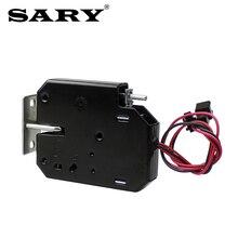 Pequena fechadura eletromagnética dc 12v2a supermercado inteligente locker bloqueio eletrônico de controle acesso fechadura elétrica caixa de correio