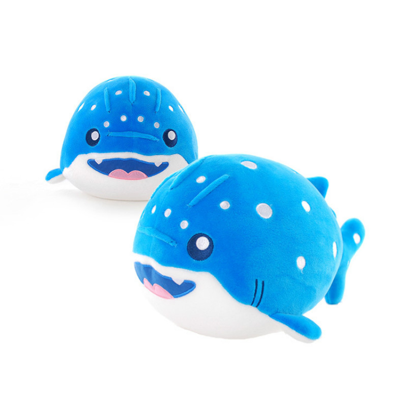 Shark Narwhal Sea Otter Dolphins Particle Filled Cute Plush Doll