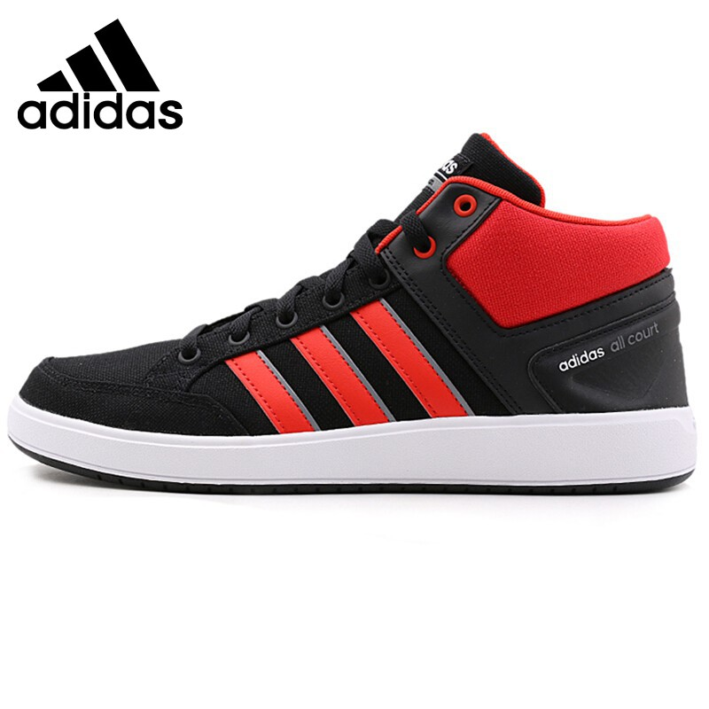 Original New Arrival 2017 Adidas CF ALL COURT MID Men's Tennis Shoes Sneakers цены