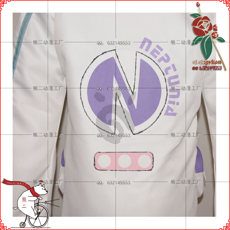 Netune Purple Heart Hoodie - Hyperdimension Neptunia Cosplay - Костюмдер - фото 5