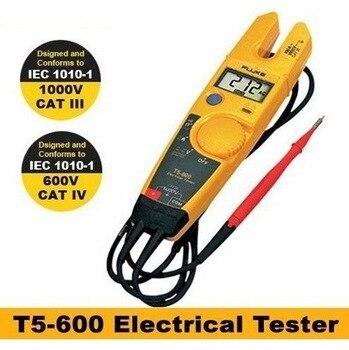 FLUKE T5-600 Clamp Meter Fluke T5 Electrical tester Voltage Continuity Current meter AC 600V 1000V Original
