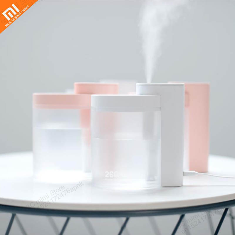 Original Xiaomi Mijia Rechargeable Humidifier Home Portable Desktop Geometric Humidifier From Xiaomi Excellent Products Smart