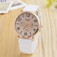 Fashion quartz-watch Relojes De Las Mujeres Women's Silicone Watch Relojes De Mujer 2017 Relogios Femininos De Marca Famosa 6