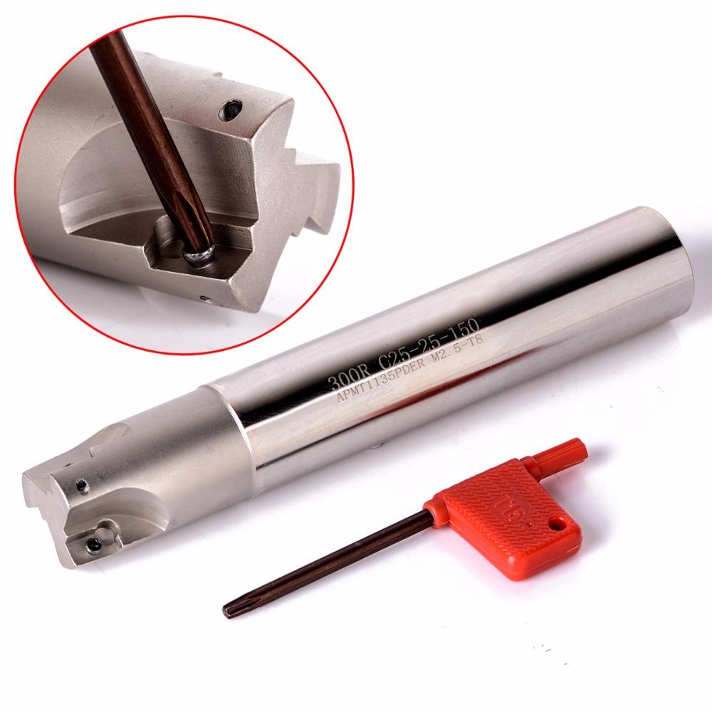 25mm 300R C25-25-150 Lathe Turning Tool Holder Boring Bar For APMT1135