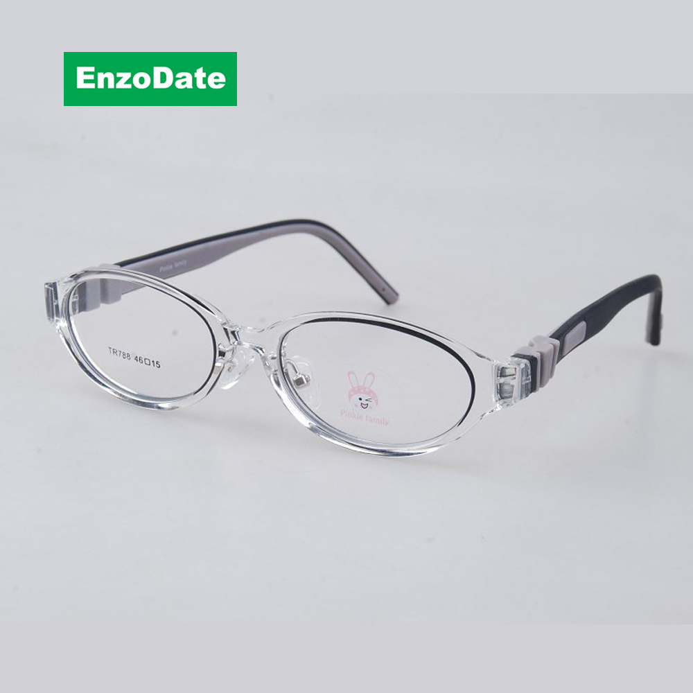 ᐂStudent Glasses Frame Size 46 Bendable Flexible Children ...