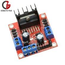 Voltage Regulator 25W Driver Motor Speed Controller Board Module L298N Dual H Bridge DC for Arduino Motor Smart Car Robot