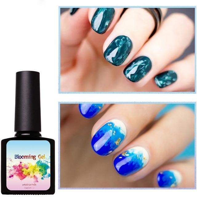Blooming Nail Polish Gel Nail Art Designs Nail Gel Polish Uv Soak