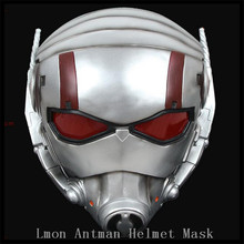 2016 New High Quality Boutique Resin Marvel Champion Ant Man Mask helmet for cosplay collectibles Decoration Gift Movies Mask