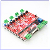 MACH3 4 Axis CNC Controller high frequency 200KHz 4.2A CNC Driver Board peak voltage 4.8A ! New product , high quality!