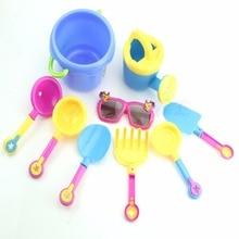 9 шт. Ребенок пляж бочки забавные крутые солнцезащитные очки купание весло обучающие игрушки