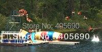 Популярные игрушки водные игры надувные водные батуты для продажи
