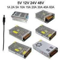 12V 2A 3A 5A 8A 10A 15A 20A 30A Power Supply Adapter Transformer Switch Converter Charger