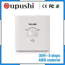 Oupushi Wall Mount Speaker Volume Control 30W Creative Speaker Volume Control