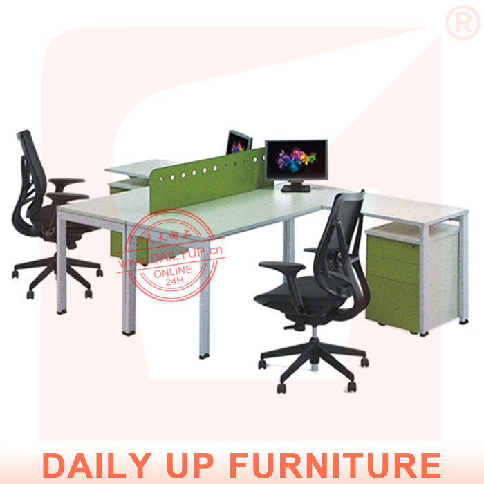 office table designs in wood with 2 partitions modern executive desk