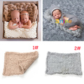 Super Soft Adorable Newborn BABY Blankets Baby Knitted Braid Blankets Newborns Photo Photography Props Basket Filler MZS-15065