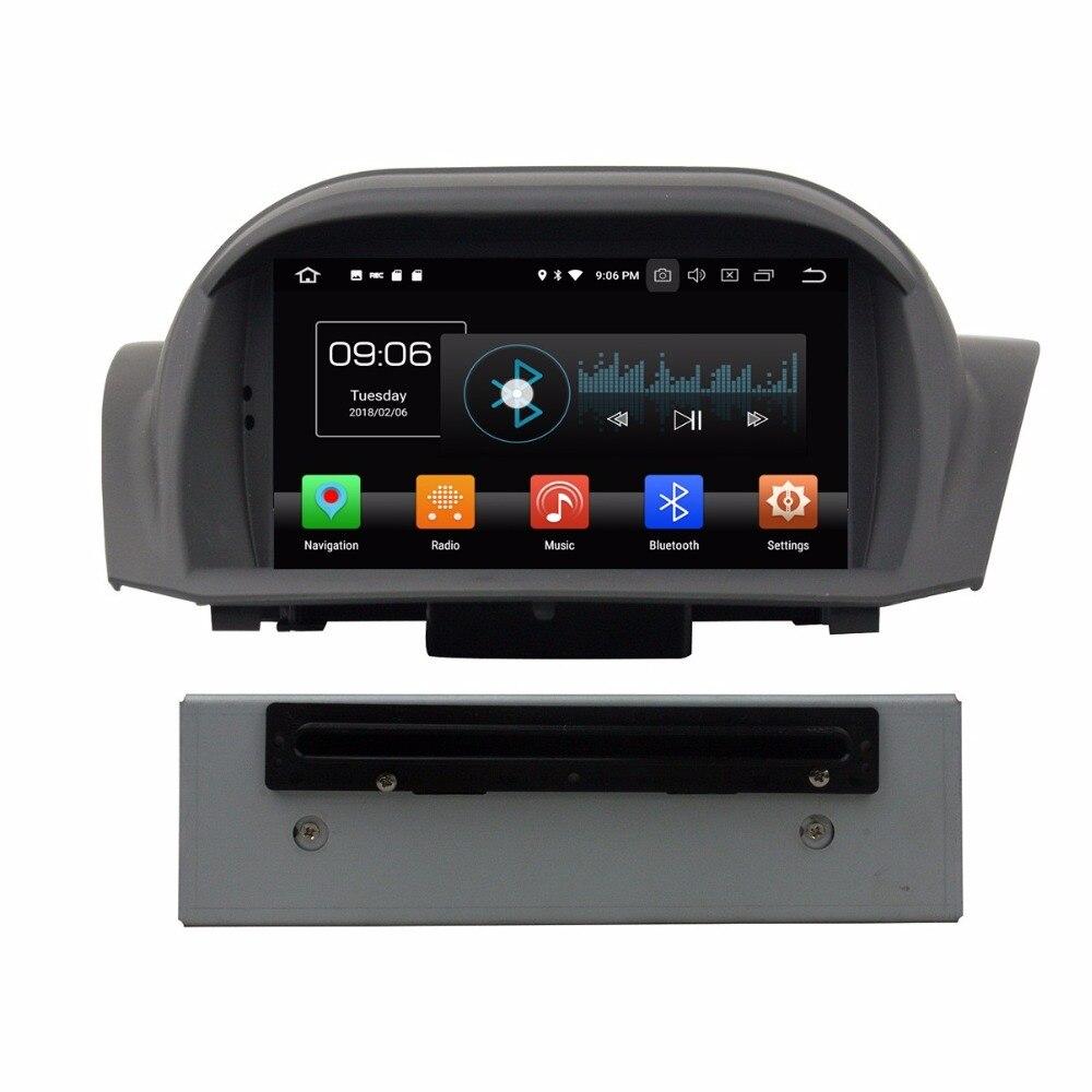 Android 8,0 Octa Core 7 автомобильный DVD Мультимедиа gps для Ford Fiesta 2011 2016 с радио 4 Гб оперативная память Bluetooth wifi USB DVR 32 Гб встроенная память