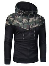 Brand 2018 Hoodie Camouflage Hoodies Suit Men Fashion Tracksuit Male Sweatshirt Hoody Mens Purpose Tour Hoodie