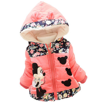 High Quality Baby Girls Winter Coats Jacket For Girl Clothes Girls Jackets Children Cotton Warm Down Coat For Kids Outerwear 1