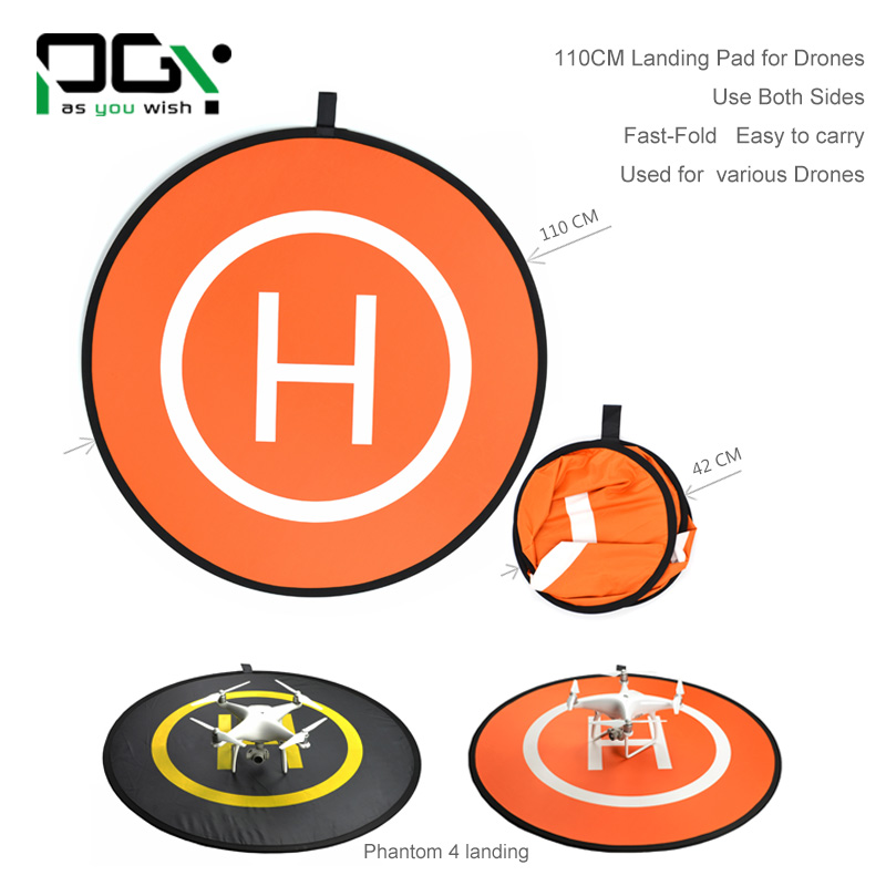 PGYTech Fast-fold landing pad helipad protective RC Drone Quadcopter Helicopter parts DJI phantom 2 3 4 inspire 1 SPARK drone