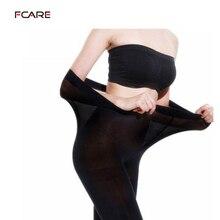 Fcare Extra big large spring autumn winter 120D plus size double crotch XXXL strumpfhosen pantyhose