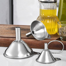 WINE-FLASK-FILTER Essentail-Oil Funnel Kitchen-Gadgets Water-Spices Stainless-Steel Home