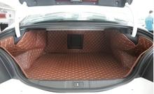 A melhor qualidade! esteiras tronco especial para Peugeot 508 2017-2011 cargo liner tapetes tapetes de inicialização à prova d' água para 508 2015, Livre grátis