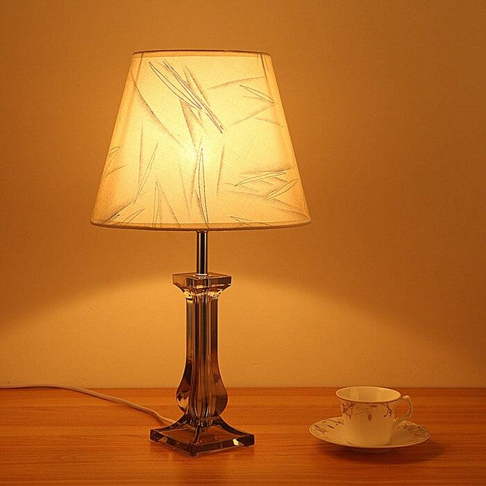 Современные прикроватные Спальня Ткань настольная лампа AC 110 В/220 В творческая личность diy Таблица свет для Гостиная кабинет