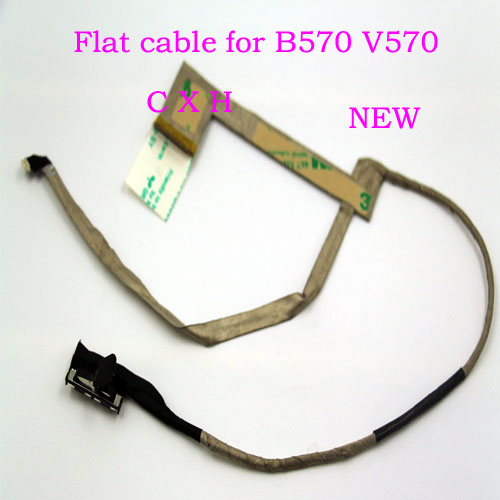 Computer Cables Original LCD Cable for Lenovo B570 B575 V570 Laptop LCD LVDS LED Cable 50.4IH07.032 50.4IH07.002 Cable Length: Other