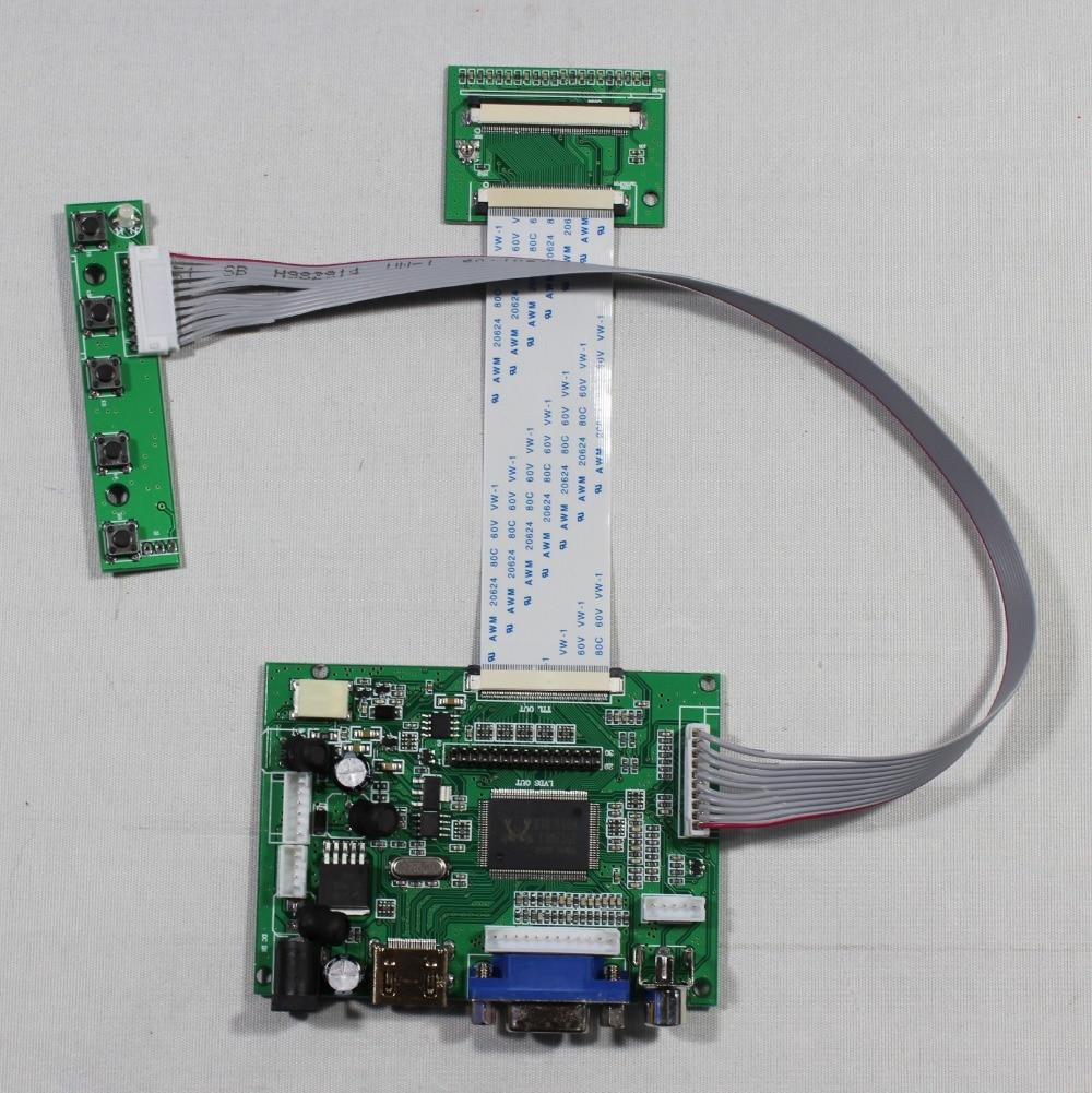 HDMI+VGA+2AV LCD driver board work for HSD070IDW1-A HSD080IDW1-A 800x480 lcd  HSD062IDW1 vga 2av revering driver board 8inch 800 600 lcd panel ej080na 05b at080tn52