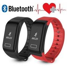 F1 Bluetooth Smart Браслет монитор сердечного ритма оксиметр для iphone Сяо Mi Meizu PK Xiaomi Mi band 2