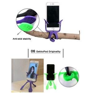 Image 3 - Новейший мини Гибкий штатив для мобильных телефонов, смартфонов, телефонов, подставка для путешествий, Открытый Портативный Прекрасный Gecko Spider