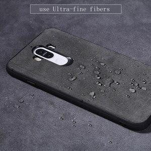 Image 3 - Wangcangli marka wszystkie ręcznie robione oryginalne futro telefon etui na Huawei Honor V10 wygodny w dotyku All inclusive etui na telefon