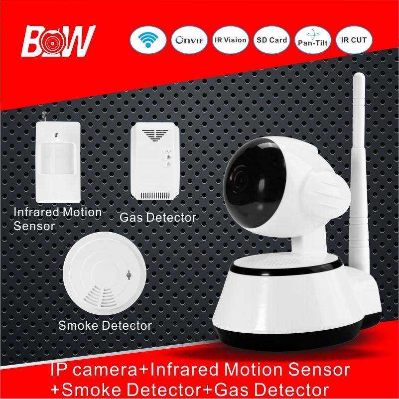BW WiFi font b Camera b font IP font b Doors b font Sensor Infrared Motion