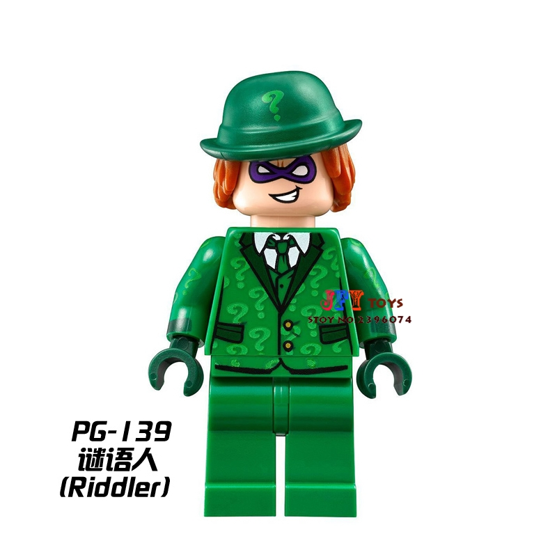 Single Sale star wars superhero marvel Riddler Batman building blocks model Gift bricks toys for children brinquedos menino single sale star wars superhero decool green lantern building blocks model bricks toys for children brinquedos menino