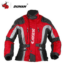 DUHAN Moto Vêtements Motocross Vitesse Matériel De Coton Sous-Vêtements Froid-preuve Moto Veste 600D Oxford Veste De Moto En Tissu