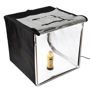 Image 4 - GODOX Photo Studio LED MiNi oświetlenie fotograficzne box namiot LSD 40/60/80 LST 40/60/80 z 2/3 listwy świecące LED fotografia tło