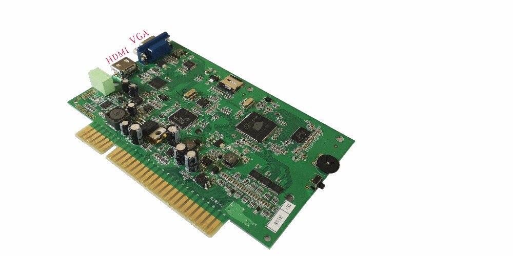 Free shipping 1660 in 1 Arcade multi Jamma Game Board HDMI VGA Output HD For Arcade