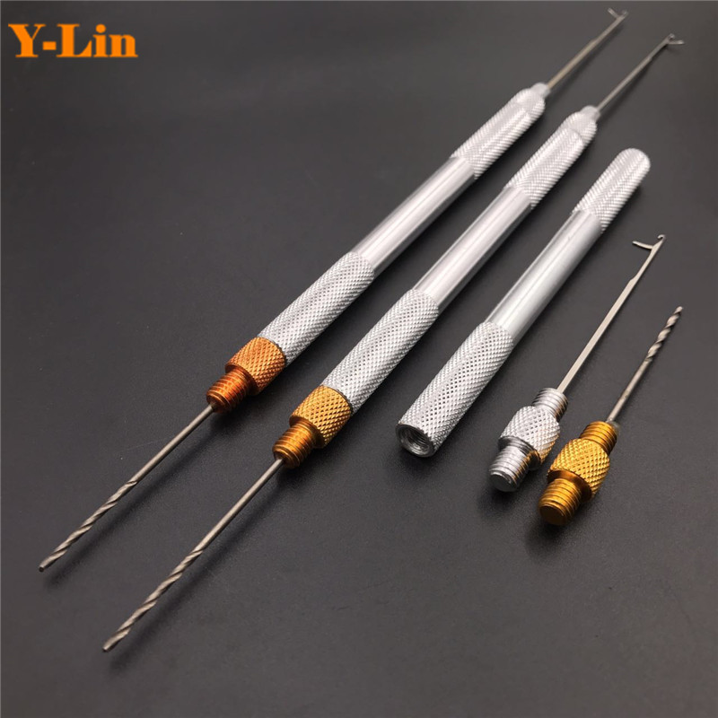 Carp Fishing Baiting Boilies Pellet Hair Rigs Needles Drills Splicing Making Tools Drill Rigs Loading Accessories